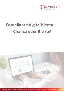 Deckblatt vom Whitepaper Compliance digitalisieren