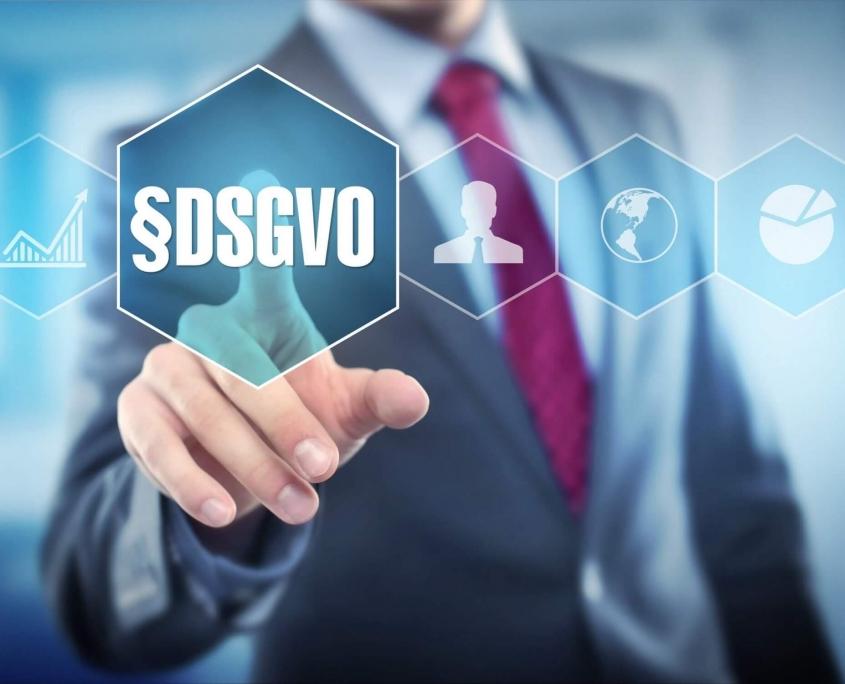 Grafik Datenschutz und DSGVO
