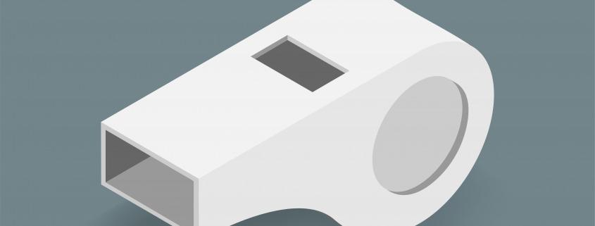 Bild einer Trillerpfeife