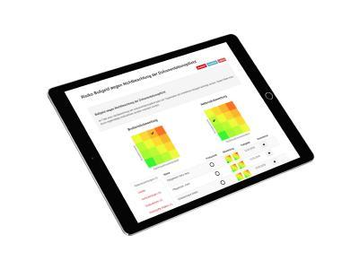 Screenshot Risikomanagement-Software Risikobewertung